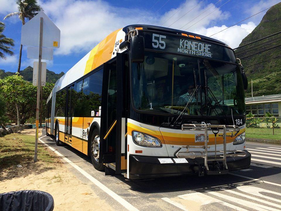 ハワイ・ホノルル市のバス運転手がコロナウイルス陽性