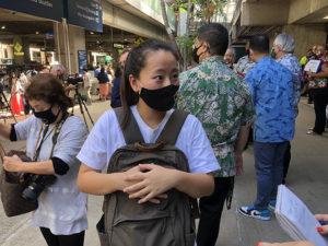 日本からハワイに64人の乗客が訪れました