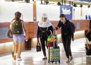 ハワイで増加している新型コロナ感染率