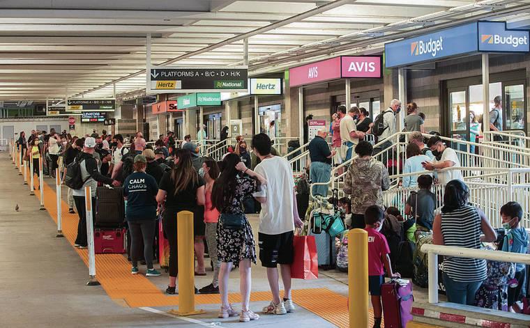 旅行の増加、ルールの緩和に伴い、ハワイのCOVID-19症例がわずかに上昇