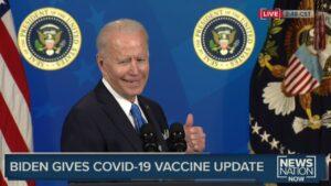 アメリカの65歳以上の60%がCOVID-19ワクチンを少なくとも1回は接種したことを発表