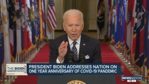 バイデン大統領はアメリカを7月4日までに「通常に近い」状態に戻すという目標を設定