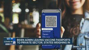 ワクチンパスポートについて、ホワイトハウスによると、連邦政府の義務はない
