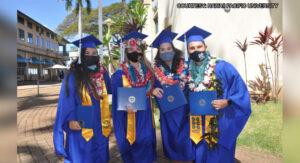 いくつかのハワイの大学が卒業式を開催しています