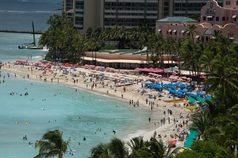 ハワイ 国内訪問者数は6月に増加したが、国際観光はまだ少ないです