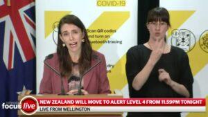 169日ぶりのニュージーランドのコミュニティ症例とロックダウン