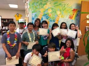 ハワイ 冬休みスクール 6歳~15歳のご案内